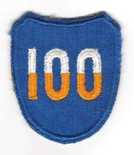 WWII - 100th INFANTRY DIVISION (Original patch)