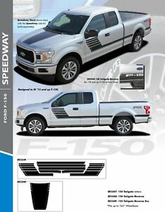 2015-2019 Ford F-150 Speedway Stripe Kit