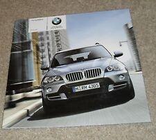 BMW X5 Price Guide Brochure 2006 - 3.0Si 4.8i 3.0d SE