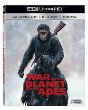 WAR FOR THE PLANET OF THE APES  (4K ULTRA HD) - Blu Ray -  Region free