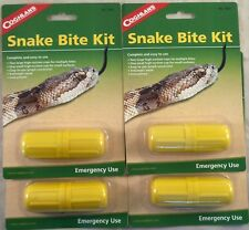 4 PK SNAKE BITE KIT CAMPING EMERGENCY SURVIVAL FIRST AID VENOM STING EXTRACTOR!