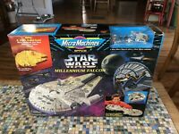 STAR WARS MICRO MACHINES SPACE MILLENNIUM FALCON BATTLE PLAYSET