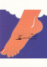 Kunstkarte: Tom Wesselmann - Fuß