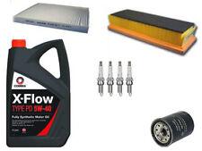 FIAT 500 / PANDA 1.2 SERVICE KIT OIL AIR CABIN FILTERS 5 LITRES OIL SPARK PLUGS