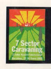 Salon Nautico Internacional Sector Caravaning Barcelona año 1983 (DV-989)