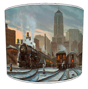 Lampshades Ideal To Match Black Prince Steam Trains Locomotives Wall Decals