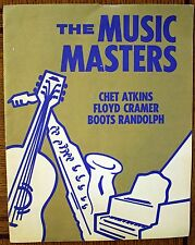 Rare Country Music Program- Music Masters- Chet Atkins, Floyd Cramer, Boots Rand