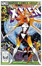 1)UNCANNY X-MEN #164(12/82)1:BINARY(CAPTAIN MARVEL)WOLVERINE(CGC WORTHY)9.8/HOT!