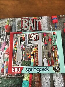 Springbok's 500 Piece Jigsaw Puzzle Oh Buoy! Pre-Owned Complete Made In USA