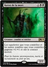 MTG Magic M19 FOIL - Death Baron/Baron de la mort, French/VF