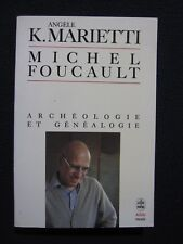 Michel Foucault [Mass Market Paperback] In French