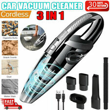Portable Cordless Car Vacuum Cleaner Handheld Small Wireless Auto Home Wet Dry