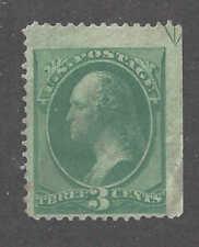 #158 19th Century Stamp Mint No Gum W/Arrow Marker Upper Right In Black