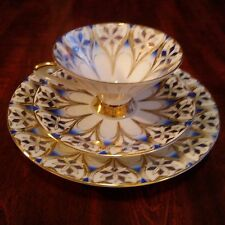 Vintage Winterling Bavaria Germany Porclain Tea Cup, Saucer, Cake Plate set