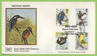 G.B. 1980 Birds set on Havering official First Day Cover, Essex Field Club, Chel