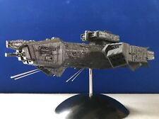 Nostromo Ship Alien. 3D-printed large Assembled, Painted W/Base&SS Antennas