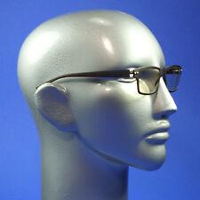 Screen Glasses Computer TV Anti Fatigue No Glare Clear Lenses Matte Brown Frame