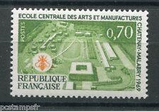 FRANCE 1969, timbre 1614, ECOLE CENTRALE DES ARTS, neuf**