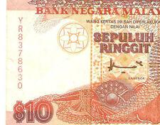 last prefix YR8378630 Ahmad Don 7th sr. banknote FCO printer $10 rare! nice