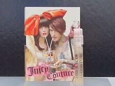 Juicy Couture Perfume Women Lot of 4 Sample Vials 0.05 oz Eau de Parfum Spray