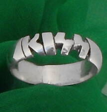 KISS LOGO STERLING SILVER Ring,ANY SIZE