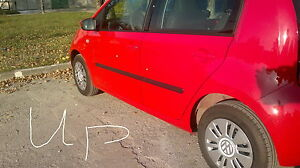 VW UP / SKODA CITIGO Side Protection Mouldings / Door Protector / Rubbing Strips