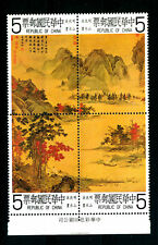 CHINA - CINA - 1980 PAINTING  COMPLETE  SET 4 VALUE