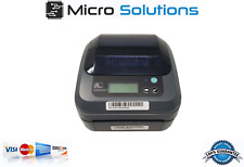 Zebra GX420D Thermal Label Printer ONLY Ethernet USB Serial LCD GX42-211910-0540