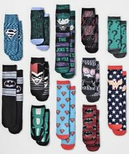 WOMEN'S DC COMICS WONDER WOMAN 12 DAYS OF SOCKS 9-11 SHOE SIZES 4-10 NWT TARGET