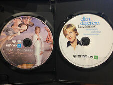 THE ELLEN DEGENERES COLLECTION~ THE BEGINNING & HERE AND NOW~ 2 DVD'S PAL REG 4