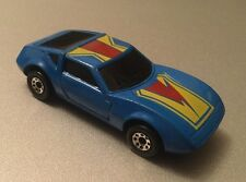 Vintage 1985 Matchbox Super GT Monteverdi Hai BR 15/16 Blue Toy Car