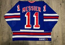 NWT Mark Messier Autographed Authentic New York Rangers CCM Jersey SIZE 54