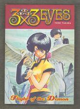 3x3 Eyes: Flight of the Demon 2001 First Vol TPB Anime Manga English Yuzo Takada