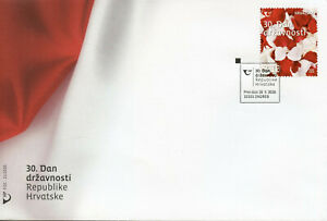 Croatia Independence Stamps 2020 FDC Statehood Day 30th Anniv 1v Set