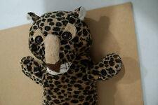 Animal Print Hand Puppet Kids Delight Stuff Plush Toy