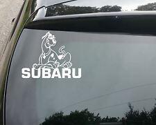 Scoobaru Gracioso Coche/Ventana Subaru Jdm VW Euro Vinilo Calcomanía Adhesivo