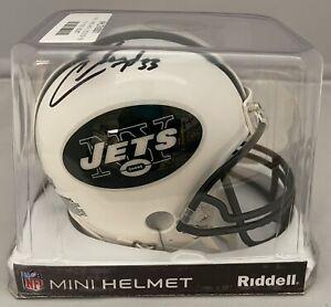 Chris Ivory Signed New York Jets Mini-Helmet Autographed Steiner COA