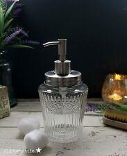 Vintage Kilner Mason Jar Soap Dispenser with Stainless Steel Lid and Pump