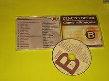 CD COMPIL PROMO GAROU LAVOIE FIORIPAGNY/F ALAMO/GAINSBOURG BARDOT/POLNAREFF/