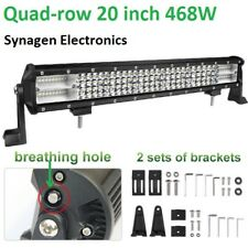 20 inch 468W 4 row 10D LED light bar for 4wd, off-road, car, truck, semi-trailer