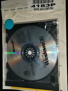 Windows 98 operating system with Disk CD+Product Key.