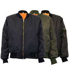 Ladies MA1 Jacket Womens Harrington Padded Army Pilot Biker Bomber Fly Military