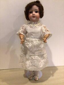 Armand Marseille Bisque Head Composition Wood Body Doll DRGM246/1 A 1/2 M