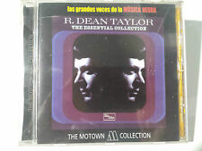 """R. DEAN TAYLOR """"ESSENTIAL COLLECTION"""" SPANISH CD FROM """"THE MOTOWN COLLECTION"""""""