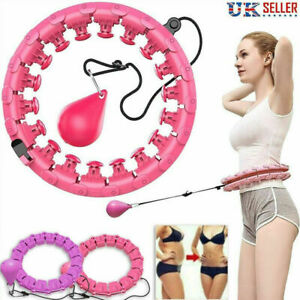 24 Knots Weighted Hula Hoop Adult Smart Hola Thin Waist Fitness Weight Loss