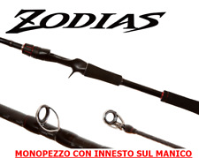 New SHIMANO CASTING MONOPEZZO ZODIAS 7'2'' mt 2,18 azione H 14-42gr spettacolare