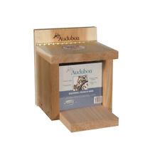 Audubon Nasqbox3 Squirrel Feeder, Cedar, 2 Quart