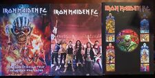 Iron Maiden Fan Club 🔥 Color Magazine Lot of 3 #105 #106 #107