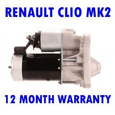 RENAULT CLIO MK2 MK II 1.6 HATCHBACK 1998 1999 2000 - 2005 RMFD STARTER MOTOR