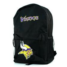 NFL Minnesota Vikings Backpack Back Pack Full Size Sprinter Style